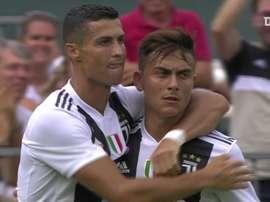 Cristiano lleva ya dos años goleando en la Juve. DUGOUT