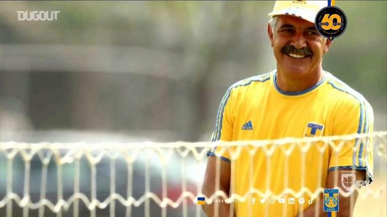 Ferretti está viviendo su tercera etapa en Tigres. Dugout