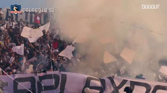 VIDEO: The atmosphere at the Chilean Superclásico. DUGOUT