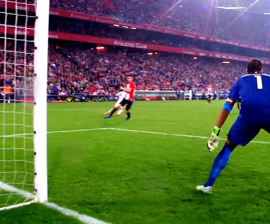 Benzema loves to score against Bilbao. DUGOUT
