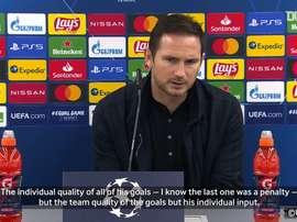 Lampard hails Giroud after four-goal display vs Sevilla. DUGOUT