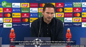 Lampard hails Giroud after four-goal display vs Sevilla. DUGOUT