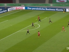Gnabry scored in Bayern Munich's 4-2 win in the German Cup final. DUGOUT