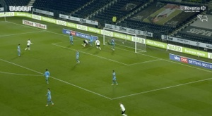 Kazim-Richards scored. DUGOUT