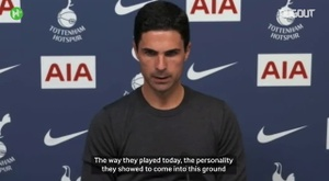 VIDEO: Arteta proud of Arsenal despite derby disappointment. DUGOUT