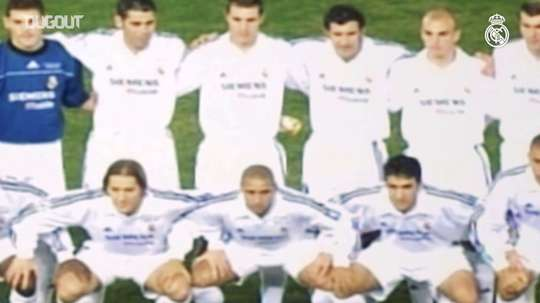 Real Madrid's Intercontinental Cup title vs Olimpia de Asunción. DUGOUT