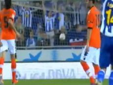 Dani Osvaldo scored a wonderful goal in a draw with Valencia back in 2011. DUGOUT