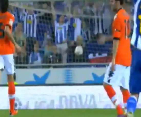 Dani Osvaldo scored a wonderful goal in a draw with Valencia back in 2011. DUGOUT