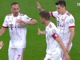 Il Bayern eliminò il Leverkusen. Dugout