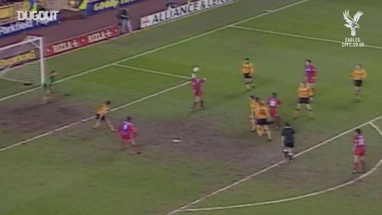 TOP buts Crystal Palace vs Wolverhampton. DUGOUT