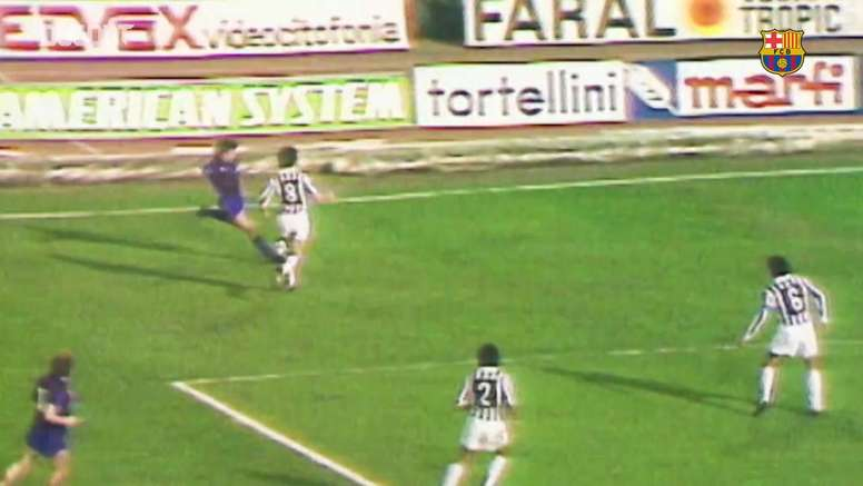 FC Barcelona's best goals against Juventus. DUGOUT