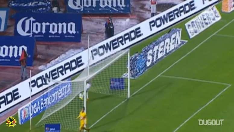 Mendoza scored for América. DUGOUT