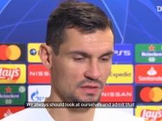 Dejan Lovren was disappointed after Zenit were beaten by Brugge in CL. DUGOUT