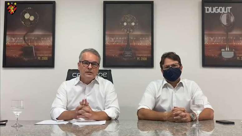 Presidente do Sport explica pedido para não utilização do VAR. DUGOUT
