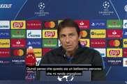 La conferenza stampa di Conte. Dugout