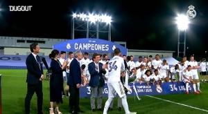 Real Madrid won the 2019/20 La Liga on matchday 37. DUGOUT