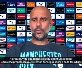 Guardiola se diz encantado por Gabriel Jesus. DUGOUT