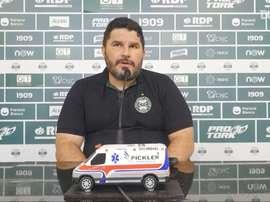 Eduardo Barroca fala sobre derrota do Coritiba. DUGOUT