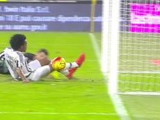Juan Cuadrado gave Juventus three points versus Torino at the Allianz Stadium. DUGOUT