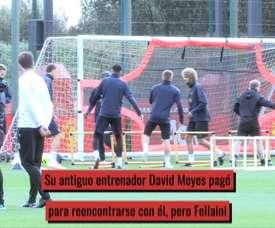 VÍDEO: la montaña rusa de Fellaini en el United. DUGOUT