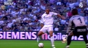 La rete al debutto di Ronaldo Nazario. Dugout