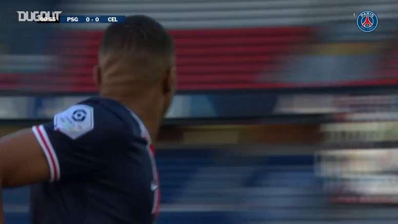 Neymar brilha com assistência e gol em amistoso do PSG. DUGOUT