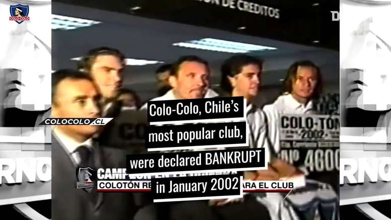 Colo Colo won 2002 Clausura Tournament with kids team 11 months after bankruptcy. DUGOUT