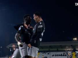 Musa Barrow got Bologna a leveller at Spezia. DUGOUT