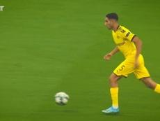 Il meglio di Hakimi contro l'Inter. Dugout