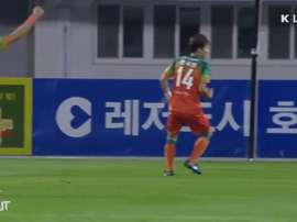 All Goals from K League Round 25. DUGOUT