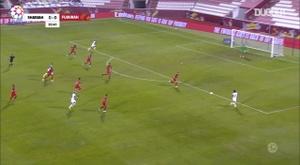 Al Fujairah 2-4 Sharjah. DUGOUT