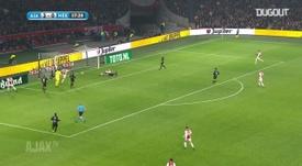 Gols de Van de Beek pelo Ajax em 2019. DUGOUT