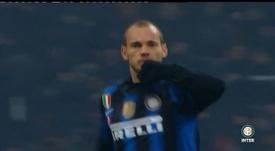 Les meilleurs moments de Sneijder à l'Inter. DUGOUT