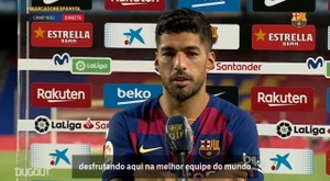 Suárez se torna o 3º maior artilheiro do Barça. DUGOUT