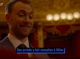 L'arrivée d'Eriksen à l'Inter Milan. DUGOUT