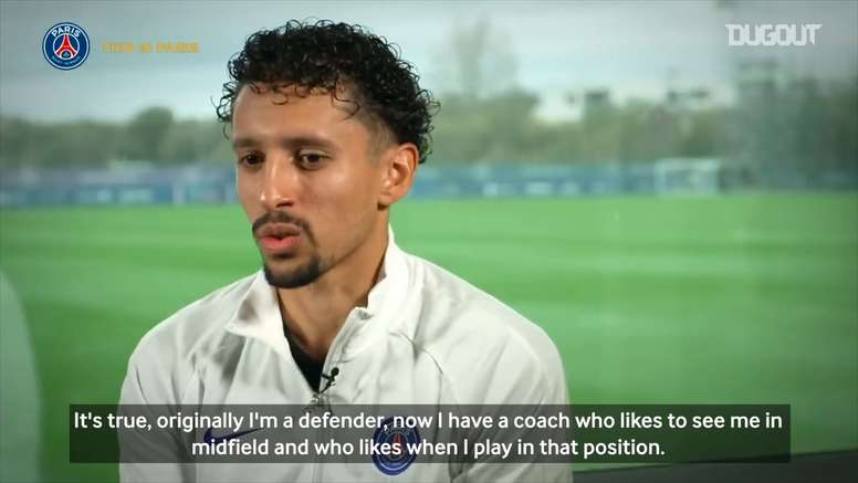 Marquinhos spoke in the interview. DUGOUT