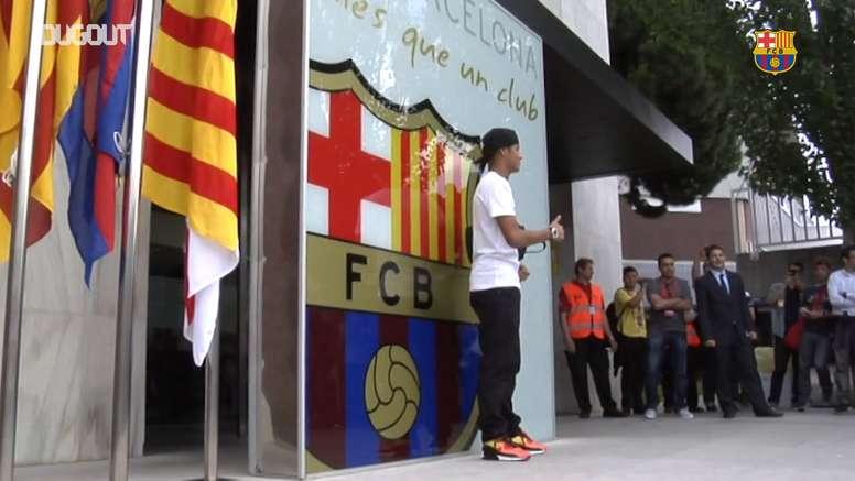En 2013, Neymar llegó al Barça con ilusión. DUGOUT