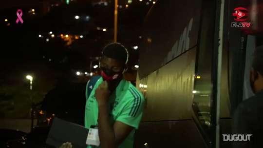 Behind the scenes of Flamengo's victory vs Junior Barranquilla. DUGOUT