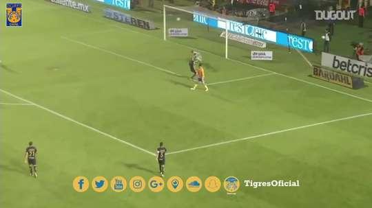 Le superbe but de Gignac contre les Pumas. DUGOUT