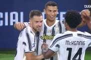 La prima rete di Ronaldo. Dugout
