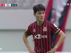 Seongnam moved 3rd with the win. DUGOUT