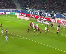 Gols de David Alaba pelo Bayern de Munique. DUGOUT