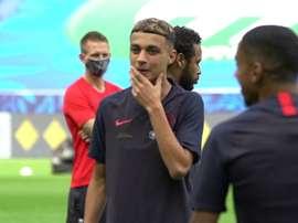 La sessione di allenamento di Neymar. Dugout