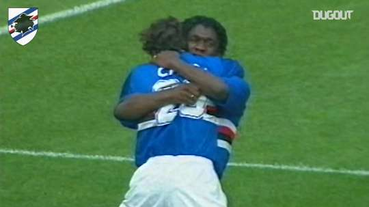 VIDEO: Dutch legend Seedorf scores. Dugout