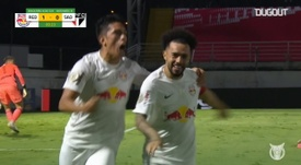 Red Bull Bragantino were on fire in the first half v Sao Paulo. DUGOUT
