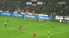 Midtjylland beat Southampton. DUGOUT