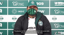 VIDEO: Eduardo Barroca explains Coritiba's plans ahead of the return of football. DUGOUT