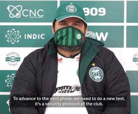 VIDEO: Eduardo Barroca explains Coritiba's plans ahead of the return of football. DUGOUT