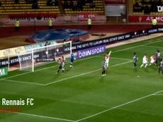 Le premier but de James Rodriguez à Monaco. Dugout