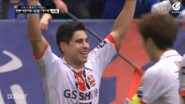 Mauricio Molina scored some sensational free-kicks. DUGOUT